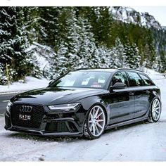 #Audi #RS6 on #Vossen #VFS1 22""