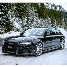 "#Audi #RS6 on #Vossen #VFS1 22"""