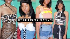 making diy halloween costumes out of thrifted clothes 2019 Diy Fashion Videos, Clothes 2019, Diy Halloween Costumes, Thrifting, Cute, Youtube, How To Make, Kawaii, Budget