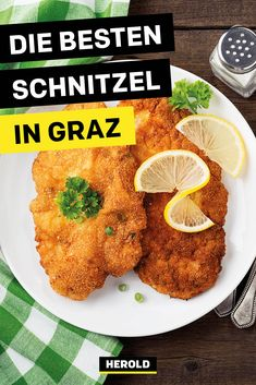 Das sind die Top 10 Schnitzel-Lokale in Graz Wiener Schnitzel, Chana Masala, Hot, Ethnic Recipes, Graz, Searching, Viajes, Tips
