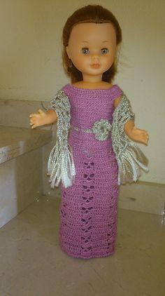 vestidos muñeca nancy crochet - Buscar con Google