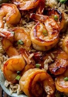 Quick & Healthy Dinner: 20 Minute Honey Garlic Shrimp