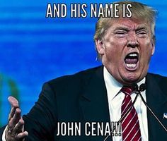 Just my little pretty world~:D • JOHN CENA!!! #donaldtrump #stupid ...