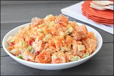 Hungry Girl's Low-Calorie Sweet Potato Salad with Butternut Squash