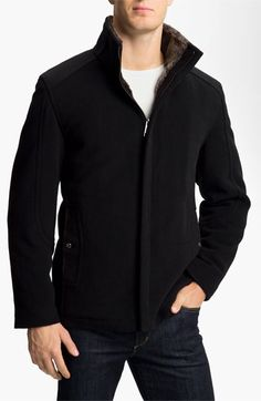 Marc New York by Andrew Marc 'Wagner' Wool Blend Jacket |