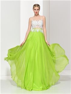 Ericdress Appliques Bowknot Pearls Button Prom Dress