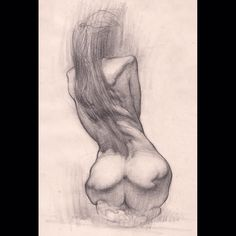 Throwback to San Jose #lifedrawing days circa 2009. Long before I discovered charcoal rendering. #drawing #figuredrawing #quicksketch by chrislegaspi_art