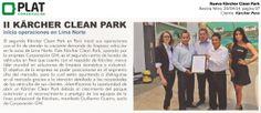 Kärcher: Nuevo Clean Park en la revista Nitro de Perú (29/04/14)