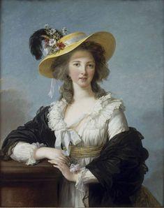 エリザベート=ルイーズ・ヴィジェ=ルブラン「ポリニャック公爵夫人の肖像」(1782)