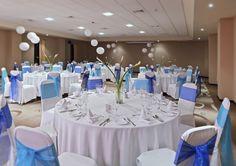 Ocean Coral & Turquesa, Puerto Morelos, Mexico - Indoor banquet style wedding reception