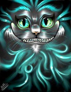 Cheshire cat disney alice in wonderland cheshire cat, cheshi Cheshire Cat Disney, Cheshire Cat Art, Chesire Cat, Lewis Carroll, Alice And Wonderland Quotes, Adventures In Wonderland, Alice Tattoo, Tattoo Chat, Art Tim Burton