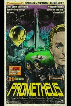 Check Out a Fifties-Style Prometheus Poster -- Vulture
