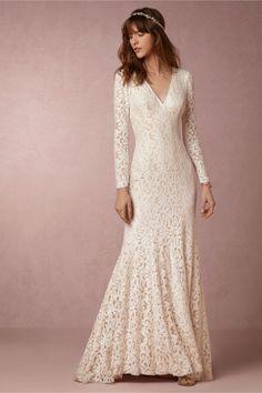 BHLDN Lisette Gown in  Bride Wedding Dresses at BHLDN