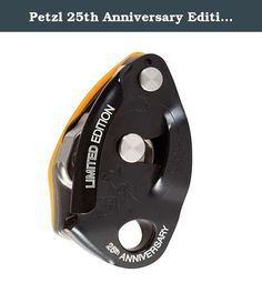 Petzl 25th Anniversary Edition GriGri 2 Black / Orange One Size. FEATURES of the Petzl 25th Anniversary Edition GriGri 2 Designed to facilitate belay maneuvers Works equally well for lead climbing and top roping Compact and lightweight, allows for excellent descent control Built with a stainless steel friction plate and cam to ensure a long life for the product Diagrams for rope installation engraved on belay device (interior and exterior).