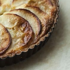 Make this Brown-Butter Apple Tart recipe from Mika Paredes, chef de cuisine at Beast in Portland, Oregon