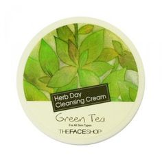 [THE FACE SHOP] Herb Day Cleansing Cream - 150ml  Green Tea