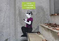 iHeart street art meets contemporary social media culture