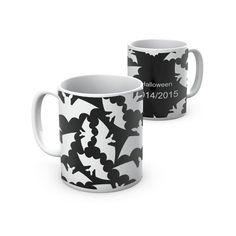 Caneca Halloween para um chá assustador! Mug for a spooky Halloween tea!