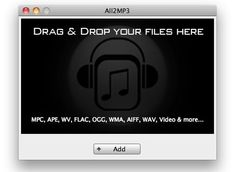 convert flac to mp3 mac: All2MP3