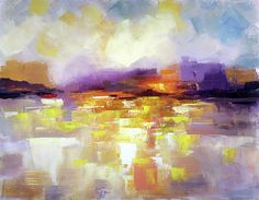 Abstract landscape, The New World