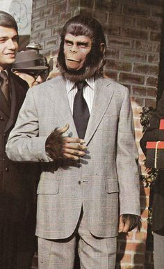 "Cornelius from ""Escape from the Planet of the Apes"""