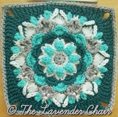 This is Square # 9 of the Mandala Blanket CAL Add to your Favorites/Queue on Ravelry Materials: Lion Brands Vanna's Choice (Worsted Weight Yarn) I 5.50mm Crochet Hook Yarn Needle Difficulty: Experienced Gauge: 4Hdc = Approx 1 inch Size: 12″ x 12″ Stitches: CH: Chain- Yarn over pull through one …