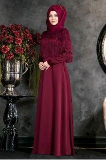 Zarif Tesettur Adli Kullanicinin Tesettur Abiye Modelleri Panosundaki Pin Elbiseler Moda Stilleri Giyim