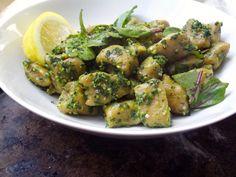 Sweet Potato Gnocchi with Kale Pesto