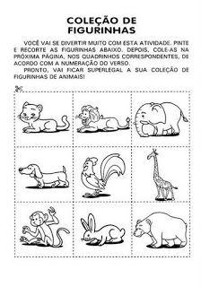 Animais 45 Atividades E Desenhos Colorir Imprimir Animais
