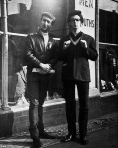 John Lennon and Paul McCartney, 1961