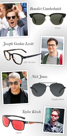 Get the Look with Celeb-Inspired Glasses + Shades: http://eyecessorizeblog.com/2015/08/celeb-inspired-glasses-shades/
