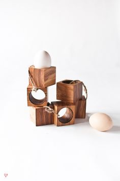 hand crafted egg holders