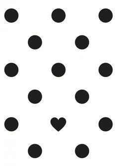hart&8 kaart - dots