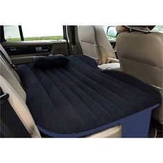 Hotouch Car Self-drive Travel Air Mattress Rest Pillow Inflatable Bed Outdoor with Pump