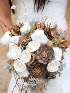 bouquet sposa matrimonio in autunno