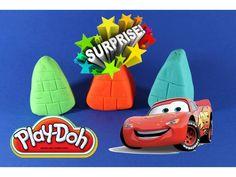 Плейдо Открываем Сюрпризы ИГРУШКИ Машинка Play Doh Opening Surprises TOY...