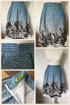 Alice in wonderland skirt