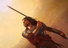Oberyn Martell by LevonJihanian, via deviantart