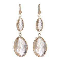 Double Oval Dangling Earrings Marcia Moran $138