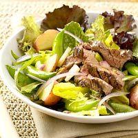 Flank Steak Vinaigrette Salad
