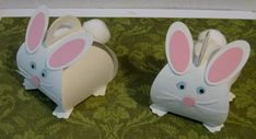 Curvy Box Bunnies by wiggywise - Cards and Paper Crafts at Splitcoaststampers