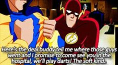 Justice League Unlimited: Flash and Substance Justice League Unlimited, Pandoras Box, I Promise, Guys, Sons, Boys