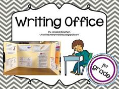 For writers workshop instead of a folder- laminate, put rubric, and tips, rules, etc...