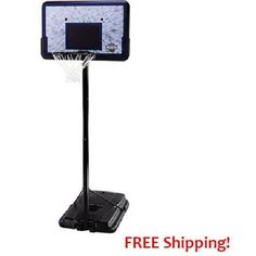 Basketball Hoop Portable Adjustable Backboard Outdoor Indoor Court  NBA PRO