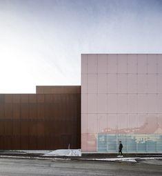 Vendsyssel Theatre by Schmidt Hammer Lassen Architects/ Hjørring, Denmark