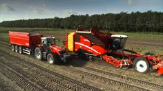 Potato and carrot harvest | Modern Agriculture Machinery