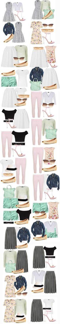 summer capsule wardrobe 2014