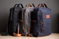 Brenton Modern Briefcase/Backpack
