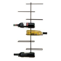 The Frame Wall Wine Rack from Urban Barn is a unique home décor item. Urban Barn carries a variety of For Him and other  Gifts furnishings.