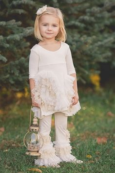 Pixie Girl Clothing Cloud 9 Tunic Set with Ivory Leggings Fall 2015